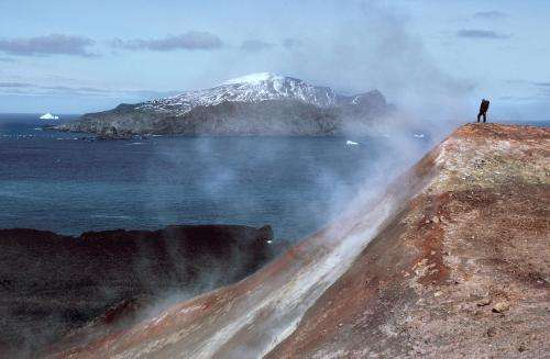Volcanoes helped species survive ice ages