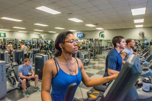 Want a higher GPA in college? Join a gym