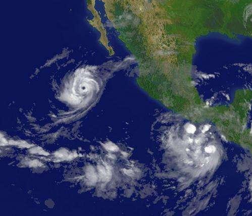 Warm ocean water depth encourages development of Northeast Pacific hurricanes