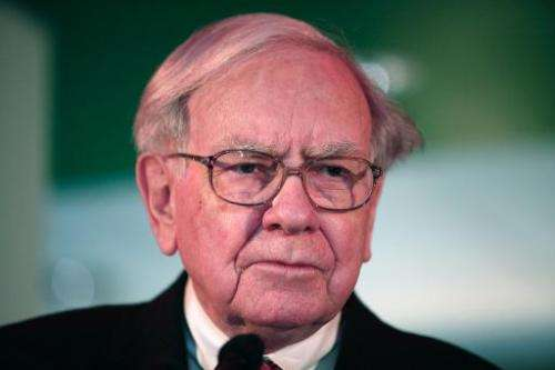 Warren Buffett, Chairman and CEO of Berkshire Hathaway, in Detroit, Michigan on November 25, 2013