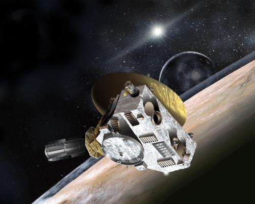 Watch Pluto and Charon engage in their orbital dance