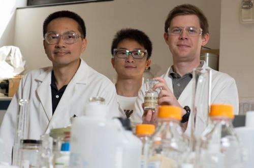 Water-cleanup catalysts tackle biomass upgrading