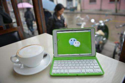 """WeChat, called """"weixin"""" in Chinese, is owned by Shenzhen-based Tencent, and had 468 million monthly active users in th"""
