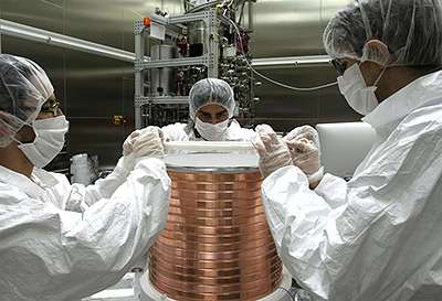 Welcome to the DarkSide: Project aims to find particles of dark matter