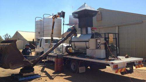 Western Australian company perfecting biochar for farms