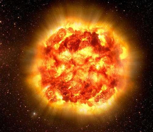 What does a supernova sounds like?