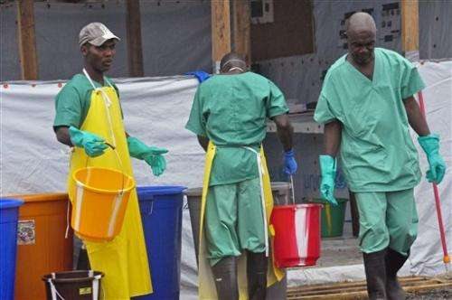 WHO says Ebola has killed more than 1,200