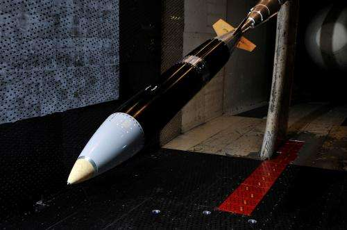 Wind tunnel tests support improved aerodynamic design of B61-12 bomb