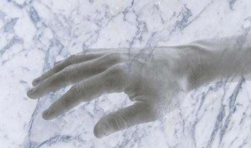 Would you believe your hand could turn into marble?