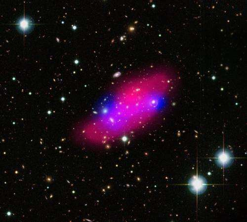 XMM-Newton reveals cosmic collision in the Bullet Group