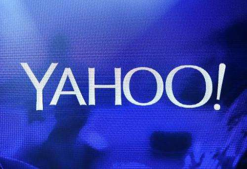 Yahoo reported a stronger-than-expected first-quarter profit Tuesday, results hailed by chief executive Marissa Mayer as showing