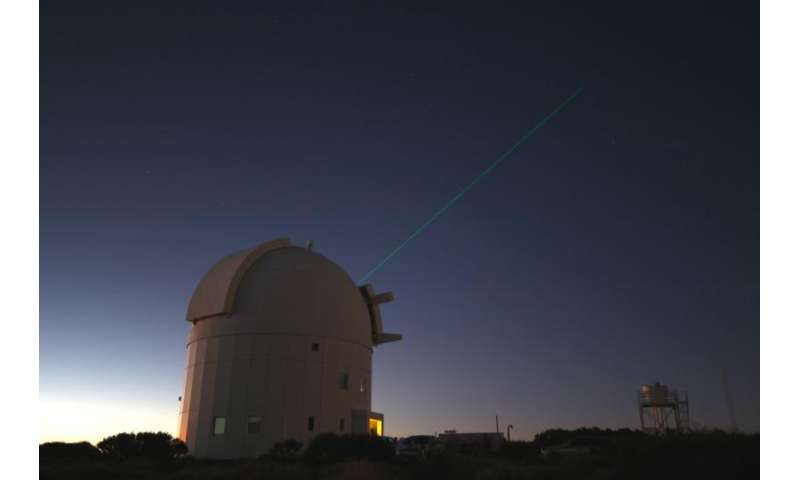 AIMing a light across millions of kilometres