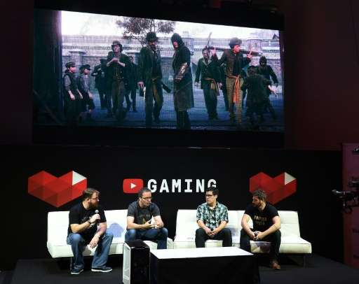 A panel discusses YouTube Gaming on June 17, 2015