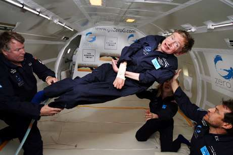 Are astronauts really weightless?
