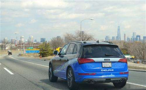 Autonomous car completes 3,400-mile US road trip