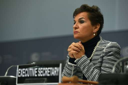 Christiana Figueres, Executive Secretary of the United Nations Framework Convention on Climate Change, pictured in Bonn, western