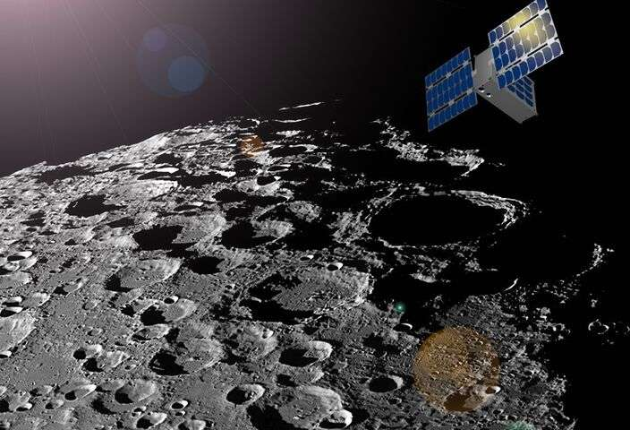 CubeSat to create a map of water ice on the moon