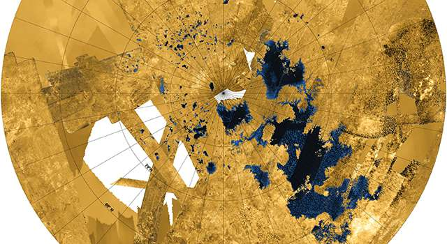 Early Titan was a cold, hostile place for life