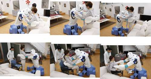 Engineering a robot that assists in direct nursing care