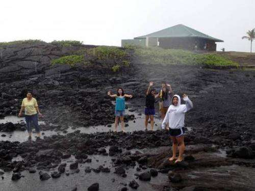 Engineering undergraduates characterize sulfur emissions from Hawaiian volcano