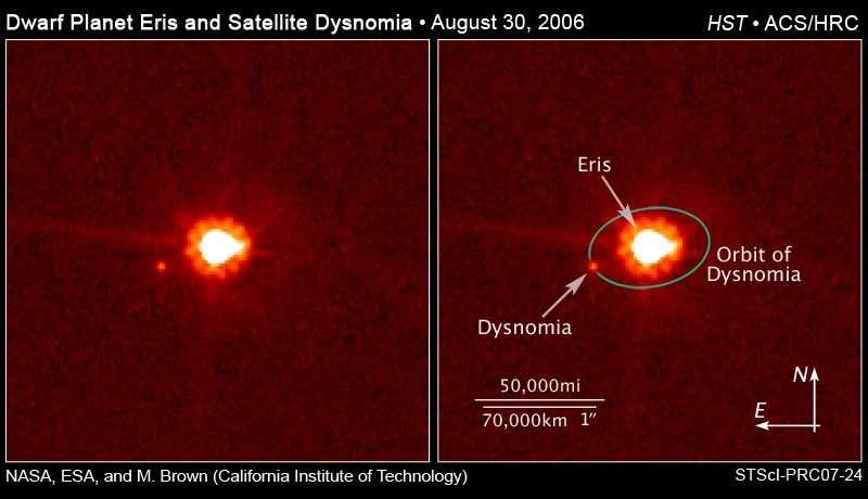 Eris' Moon of Dysnomia