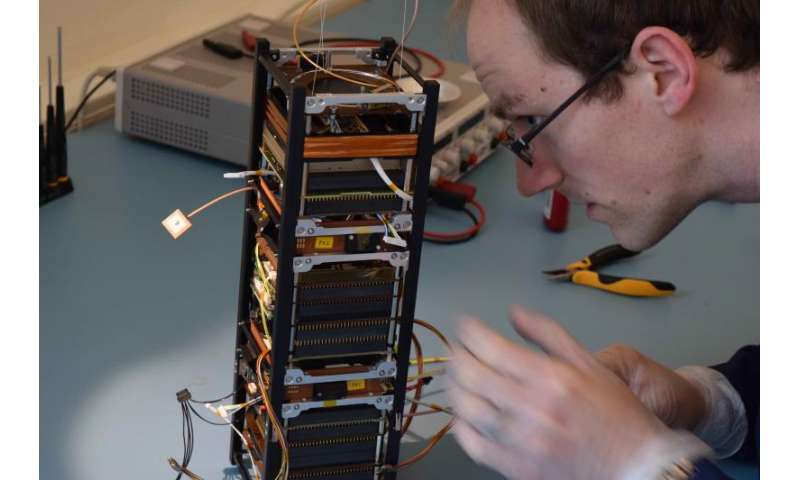 ESA's first technology nanosatellite reporting for duty
