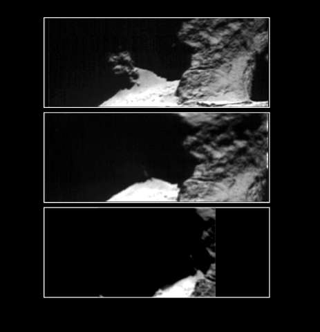 ESA's Rosetta data reveals evidence for a daily water-ice cycle on and near the surface of comets