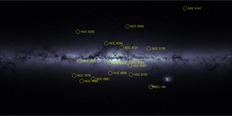 Gaia produces stellar density map of the Milky Way