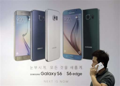 Galaxy S6 fails to reverse profit decline at Samsung