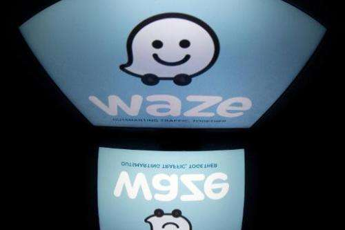 Google's newly acquired Waze application poses a danger to police because of its ability to track their locations, the Los Angel