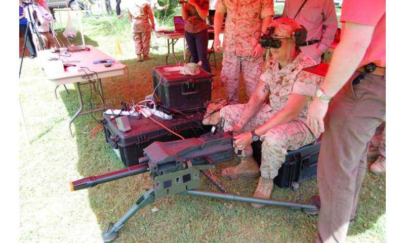 Here's looking at you: ONR tests new glasses for augmented reality system with Marines