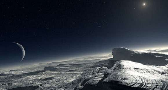 Is there life on Pluto?