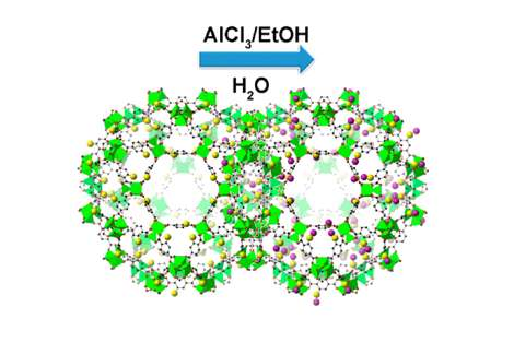 Metal-organic-frameworks provide new catalyst material for industry