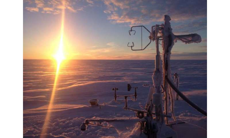 Methane emissions in Arctic cold season higher than expected