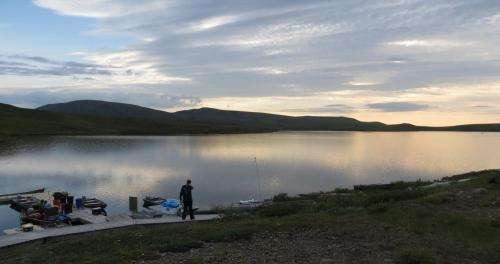 Methane in Arctic lake traced to groundwater from seasonal thawing