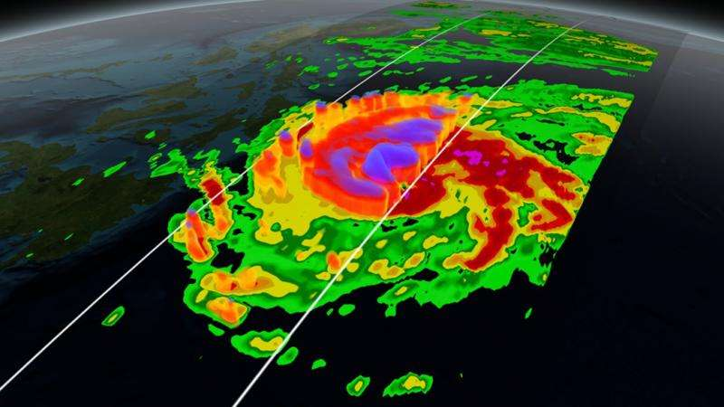 NASA releases new collection of hurricane science animations