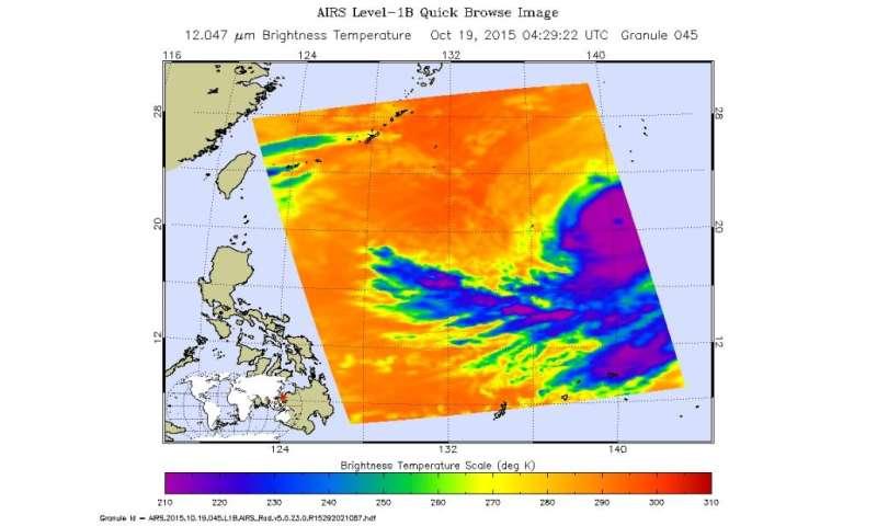 NASA's GPM measured Typhoon Champi's heavy rainfall
