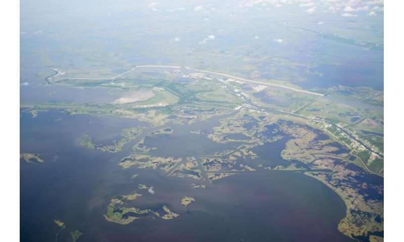 NASA studies Louisiana's changing wetlands