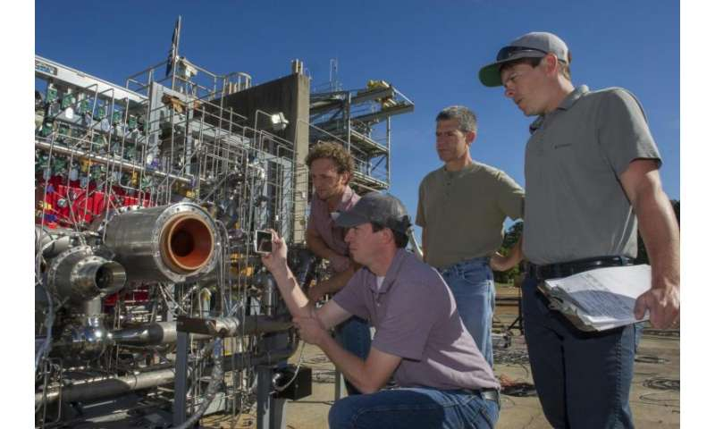 NASA team moves closer to building a 3-D printed rocket engine
