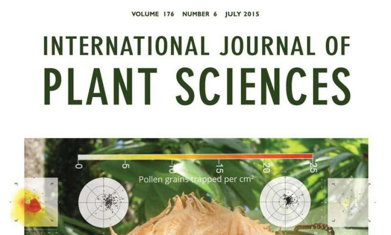 Native Guam plant on cover of international journal