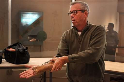 New Mexico museum unveils rare fossil find