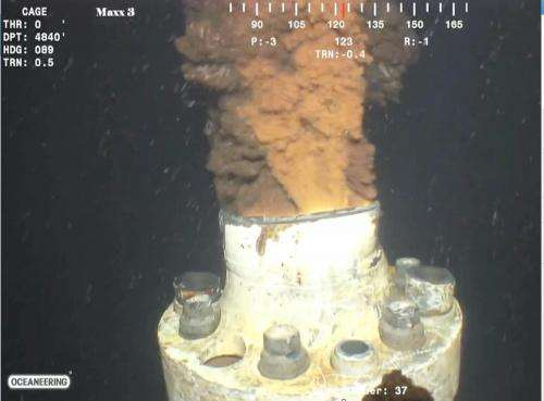New study finds a natural oil dispersion mechanism for deep-ocean blowout