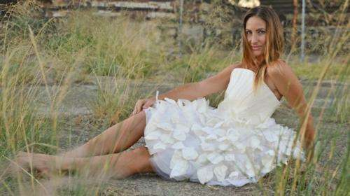 Perth beer dress goes from backyard shed to catwalk