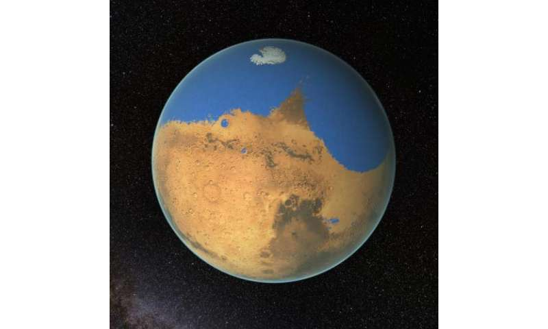 Research suggests Mars once had more water than Earth's Arctic ocean