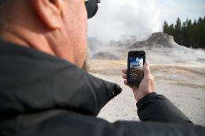 Research team releases app for tracking Yellowstone geysers