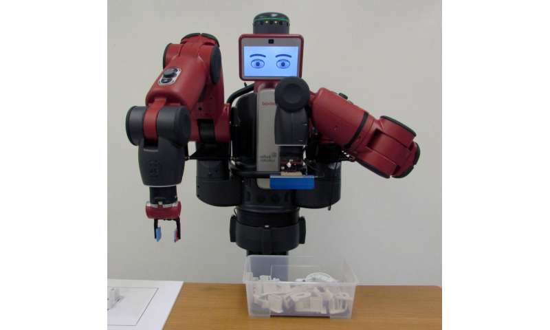 Robot can assess its situation and call a human for help when it needs assistance