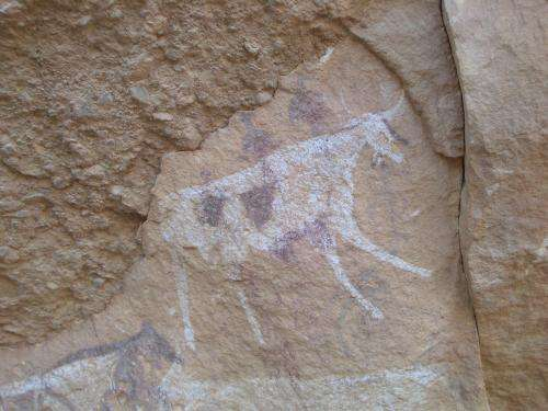 Rock art draws scientists to ancient lakes