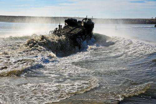 Rubber research may extend life of amphibious assault vehicle