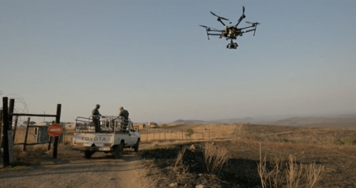 Satellites, mathematics and drones take down poachers in Africa