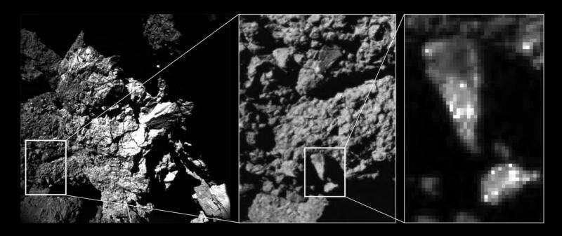 Science on the surface of a comet